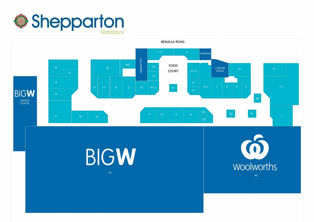 Shepparton Marketplace Site Plan
